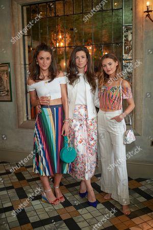 Rosanna Falconer, Shirley Leigh-Wood Oakes and Niomi Smart