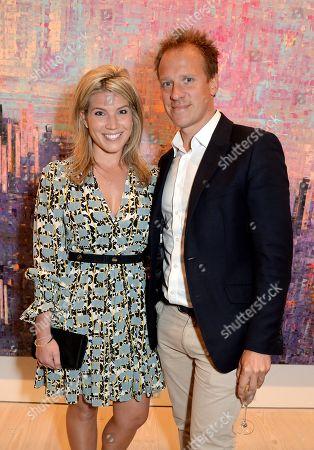 Natasha Archer and Chris Jackson