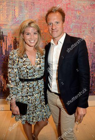 Stock Photo of Natasha Archer and Chris Jackson