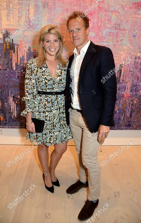 Stock Picture of Natasha Archer and Chris Jackson