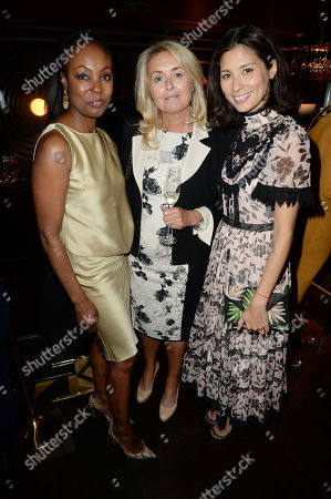 Editorial image of VIP Dinner in celebration of Karen Blackett OBE, Quaglino's, London, UK - 14 May 2018