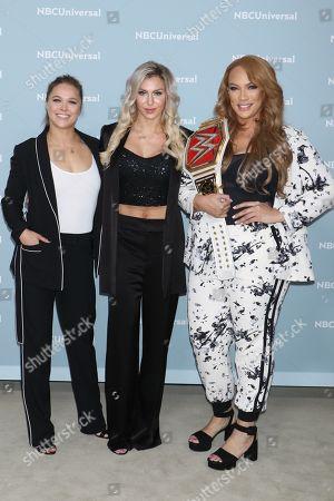 Ronda Rousey, Charlotte Flair and Nia Jax