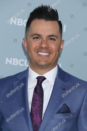 Editorial image of NBCUniversal Upfront Presentation, Arrivals, New York, USA - 14 May 2018