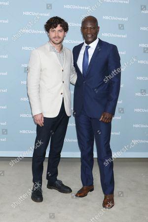 Francois Arnaud and Peter Mensah