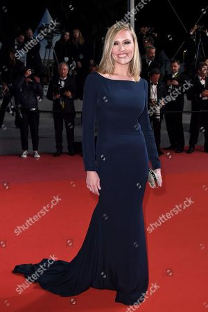 Lilou Fogli arrives for the screening of 'The House that Jack Built' during the 71st annual Cannes Film Festival, in Cannes, France, 14 May 2018. The movie is presented out of competition at the festival which runs from 08 to 19 May.