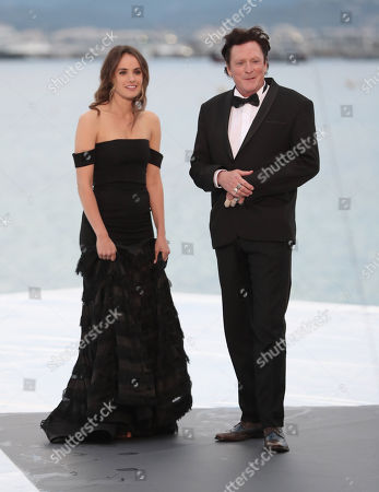 Stock Picture of Cassie Howarth and Michael Madsen