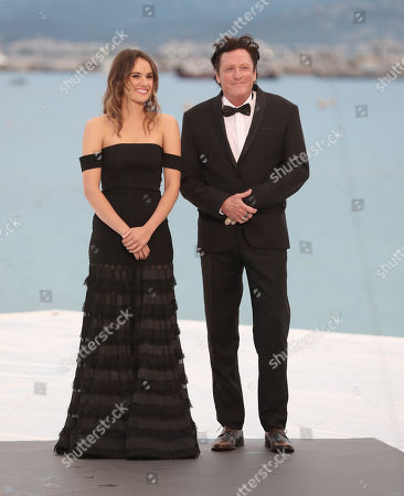 Stock Image of Cassie Howarth and Michael Madsen