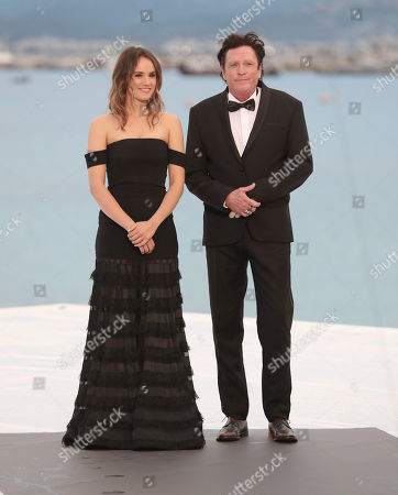 Stock Photo of Cassie Howarth and Michael Madsen