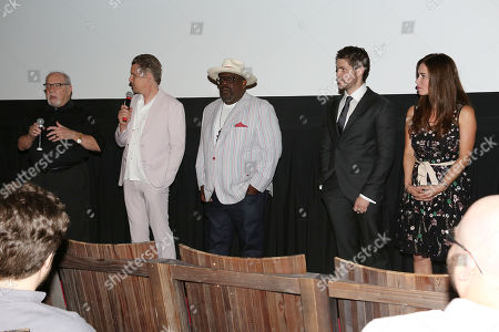 Victoria Hill (Producer), Ethan Hawke, Cedric the Entertainer, Paul Schrader (writer, director) and Philip Ettinger