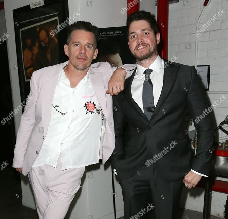 Ethan Hawke and Philip Ettinger