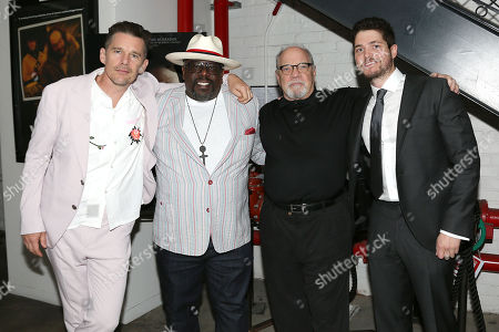 Ethan Hawke, Cedric the Entertainer, Paul Schrader (writer, director) and Philip Ettinger