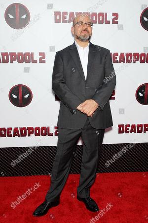 Stock Picture of Fabian Nicieza (Deadpool Co-Creator)