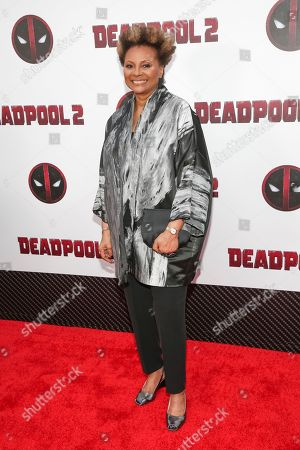 """Actress Leslie Uggams attends a special screening of """"Deadpool 2"""" at AMC Loews Lincoln Square, in New York"""