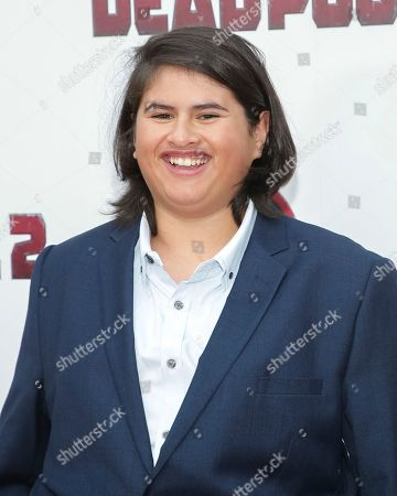 """Actor Julian Dennison attends a special screening of """"Deadpool 2"""" at AMC Loews Lincoln Square, in New York"""