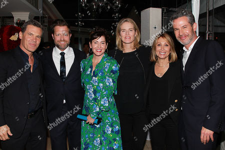 Josh Brolin, David Leitch, Kelly McCormick, Emma Watts, Stacey Snider and Simon Kinberg