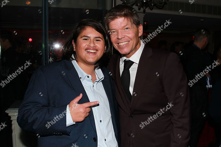 Julian Dennison and Rob Liefeld