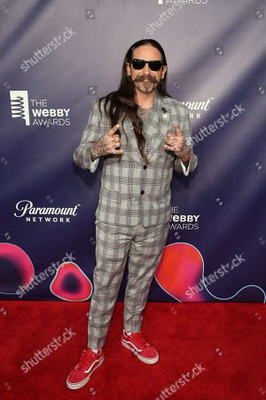 Editorial picture of The 22nd Annual Webby Awards, New York, USA - 14 May 2018