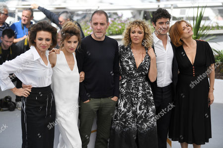 Editorial picture of 'Euphoria' photocall, 71st Cannes Film Festival, France - 15 May 2018
