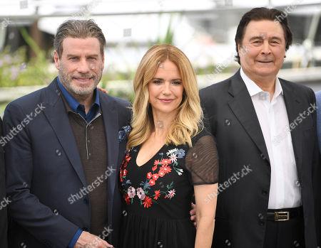 Stock Photo of John Travolta, Kelly Preston and Leo Rossi