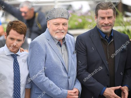 Kevin Connolly, Stacy Keach and John Travolta