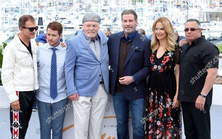 Stacy Keach, Kevin Connolly, John Travolta, Kelly Preston and Leo Rossi