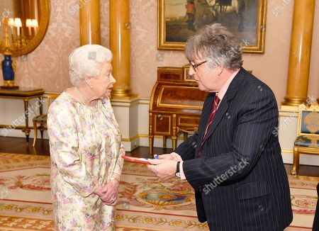 Editorial photo of Audience at Buckingham Palace, London, UK - 15 May 2018