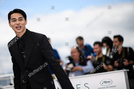 Japanese actor Masahiro Higashide poses during the photocall for 'Asako I & II (Netemo Sametemo)' at the 71st annual Cannes Film Festival, in Cannes, France, 15 May 2018. The movie is presented in the Official Competition of the festival which runs from 08 to 19 May.