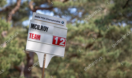 Team McIlroy at the Celebrity Pro-Am at Wentworth, Michael Carrick, Paul Scholes and Teddy Sheringham