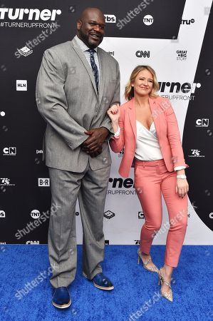 Stock Picture of Shaquille O'Neal and Kristen Ledlow