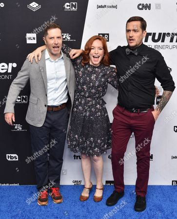 Andrew Orvedahl, Maria Thayer and Ben Roy