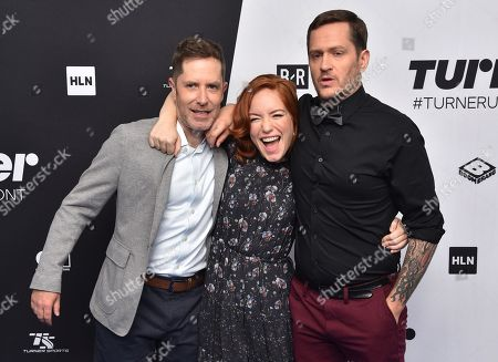 Editorial photo of Turner Upfront Presentation, Arrivals, New York, USA - 16 May 2018