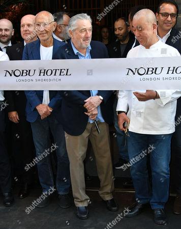 Meir Teper, Robert De Niro, Nobuyuki Matsuhisa