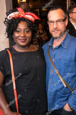 Susan Wokoma and John Light