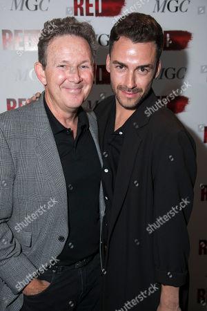 Editorial photo of 'Red' play, Press Night, London, UK - 15 May 2018