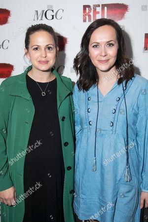 Giovanna Fletcher and Savannah Stevenson