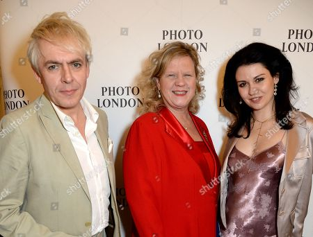 Nick Rhodes, Janice Charette and Nefer Suvio