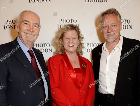 Michael G Wilson, Janice Charette and Edward Burtynsky
