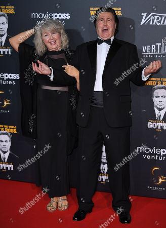 Lynn Eastman and Leo Rossi