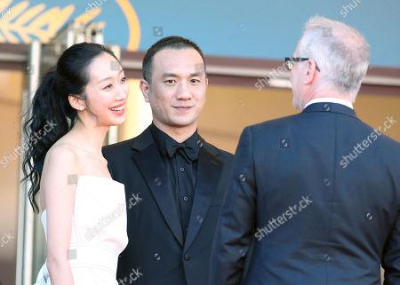 Jue Huang and guests