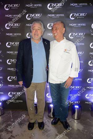 Robert De Niro and Nobuyuki Matsuhisa