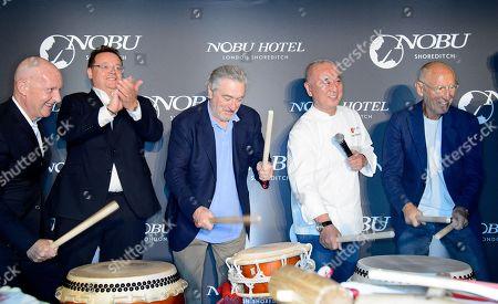Robert De Niro, Nobuyuki Matsuhisa and Meir Teper
