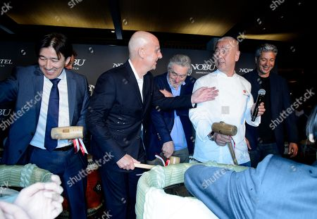 Robert De Niro, Nobuyuki Matsuhisa and guests