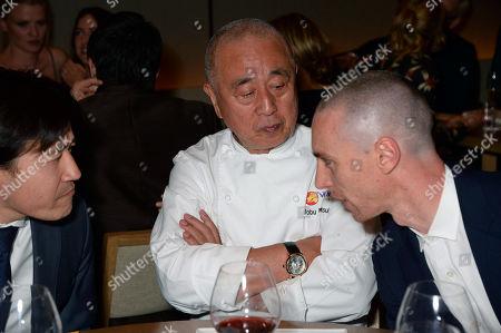 Nobuyuki Matsuhisa and guests