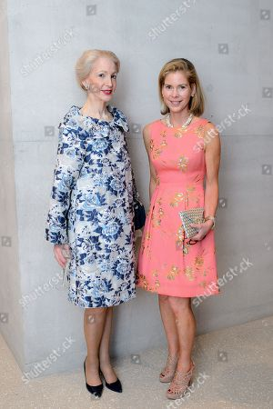 Stock Picture of Lady Barbara Judge and Suzanne Johnson
