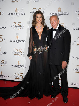 Alessandra Ambrosio and Fawaz Gruosi