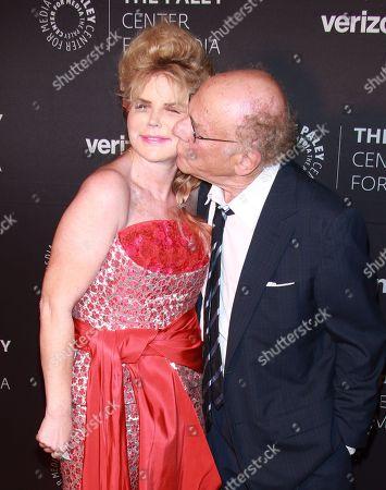 Stock Photo of Kim Garfunkel and Art Garfunkel