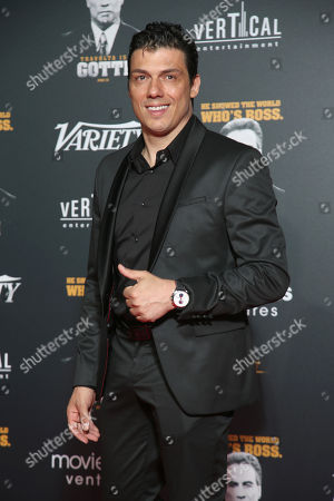 Editorial image of Party In Honour of John Travolta's Receipt of the Inagural Variety Cinema Icon Award, 71st Cannes Film Festival, France - 15 May 2018