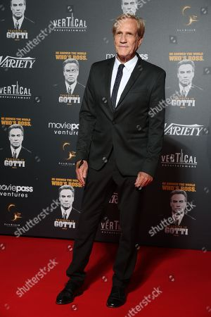 Editorial photo of Party In Honour of John Travolta's Receipt of the Inagural Variety Cinema Icon Award, 71st Cannes Film Festival, France - 15 May 2018