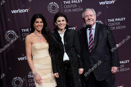 Maureen J. Reidy (CEO; Paley Center for Media), Alex Wallace (Oath) and Frank Bennack