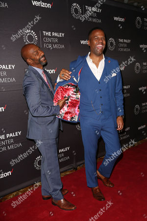 Stephen Hill and AJ Calloway